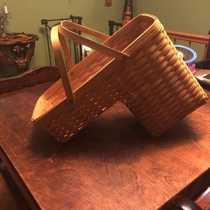 Longaberger stair basket